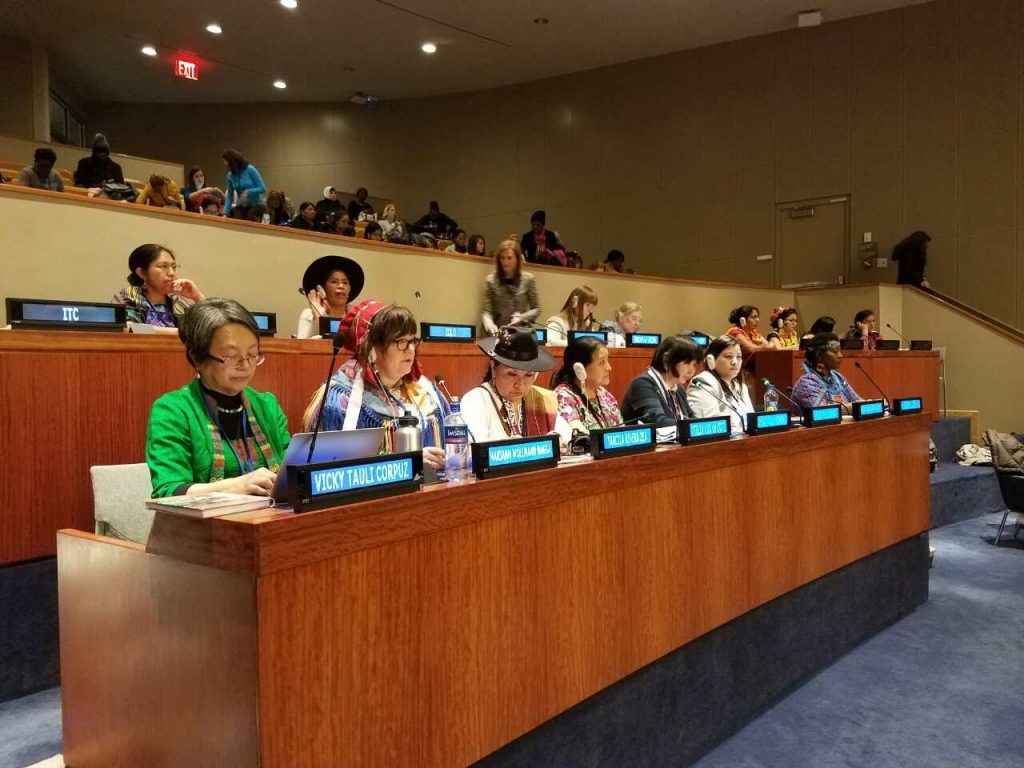 Indigenous women in the spotlight of the UN Commission on the status of Women