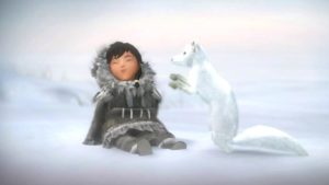 Never Alone: Storytelling for the Next Generation