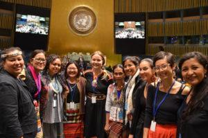 Indigenous Women Walking Together Towards Change